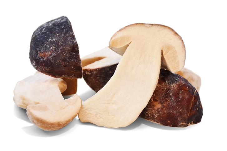 Funghi porcini tagliati a metà Kg 1 busta neutra