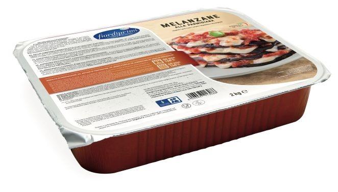Melanzane alla parmigiana kg.2