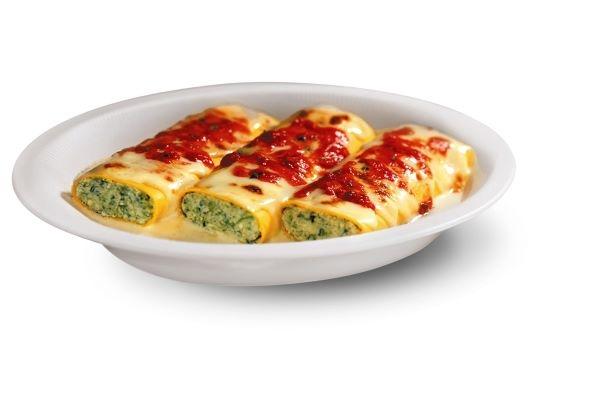 Cannelloni con besciamella 330 gr