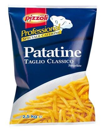 Patatine Prefritte kg.2.5 (professionali)