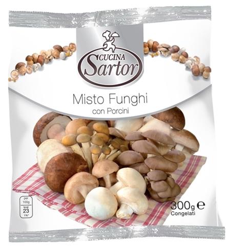 Misto funghi con porcini