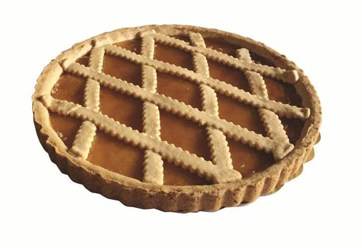 Crostata Albicocca gr. 900 rotonda