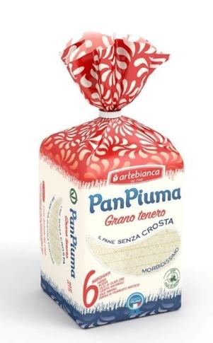 Pan Piuma al grano tenero gr.400