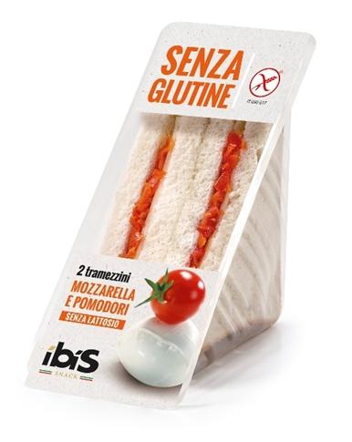 Tramezzino mozzarella, pomodorini gr. 150 Gluten Free