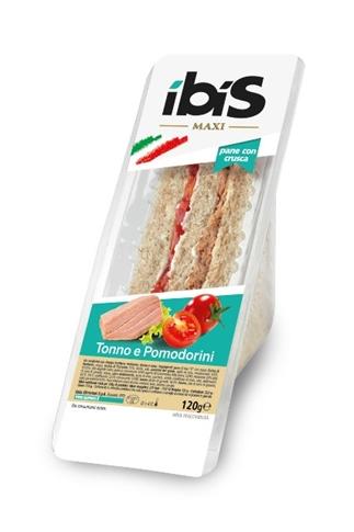 Tramezzino tonno e pomodorini gr. 120 con pane integrale