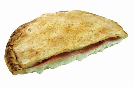 Paffuta Rustica: formaggio, prosc.cotto 310 gr. 22 cm
