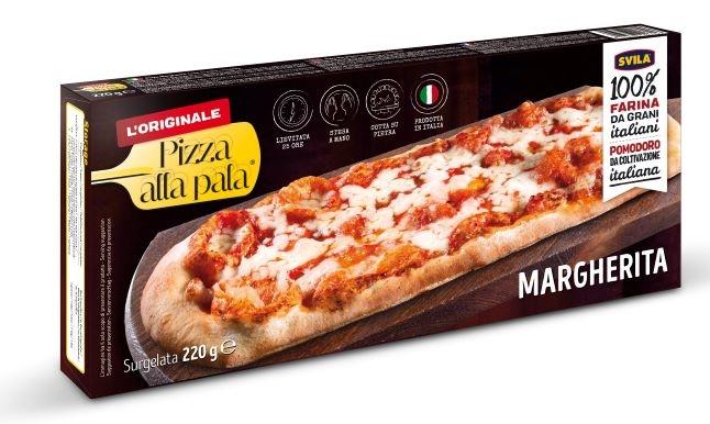 Pizza alla pala Margherita gr. 220 (13x31 cm)