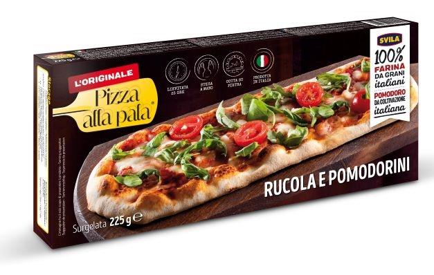 Pizza alla pala Rucola e Pomodorini gr. 225 (13x31 cm)
