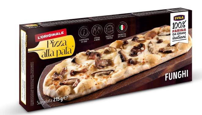 Pizza alla pala Funghi di Bosco gr. 215 (13x31 cm)