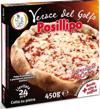 Pizza Verace del golfo Posillipo gr.450