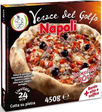 Pizza Verace del golfo Napoli gr.450