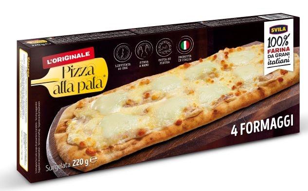 Pizza Pala 4 formaggi gr. 220