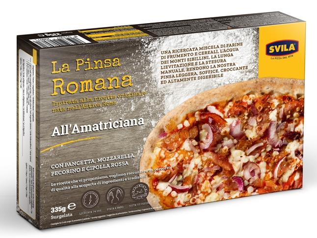 Pinsa Romana Amatriciana 335 gr. Svila