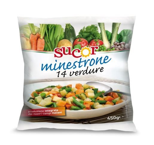 Minestrone 14 verdure 450 gr.
