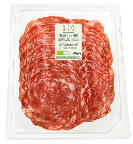 Salame finocchio BIO 80 gr. ATP