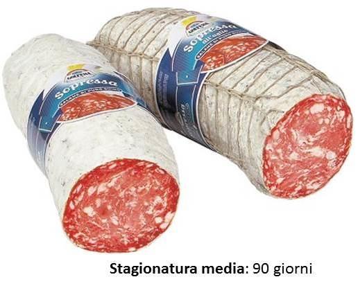 Soppressa veneta con aglio kg. 3.4 ca.