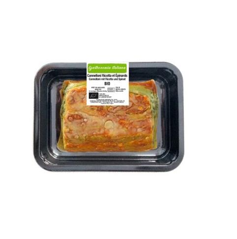 Cannelloni ricotta e spinaci 250 gr. BIO