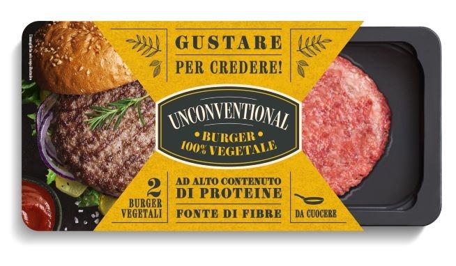 Burger VEGETALE 220 gr. (2x110gr.) Granarolo