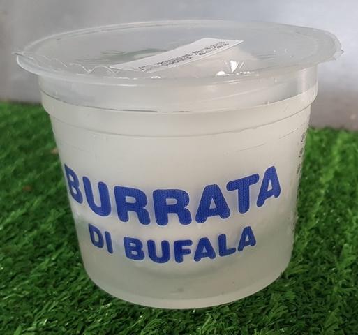 Burrata di bufala bicchiere 150 gr