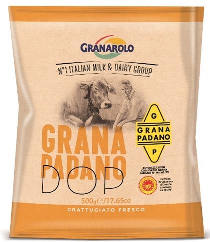 Grana Padano 100% grattugiato 500 gr.