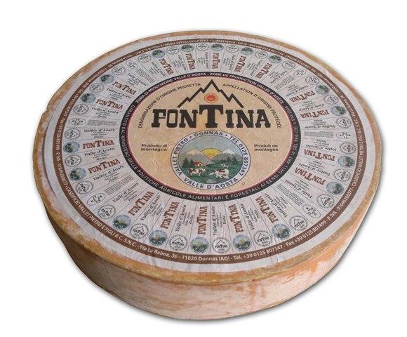 Fontina Aosta DOP kg. 2.2 ca.
