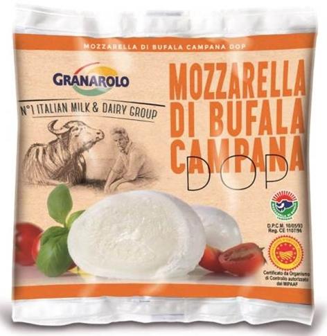Mozz. Bufala gr. 200 sacchetto Granarolo