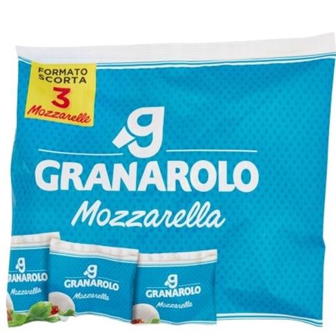 Mozzarella sacco 3x100 gr. Granarolo
