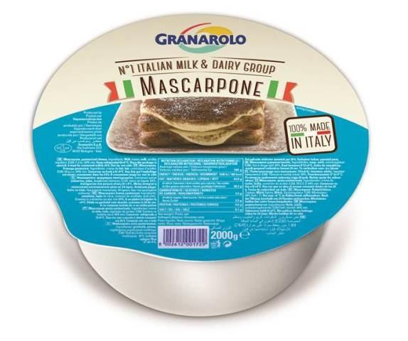 Mascarpone kg.2 Granarolo