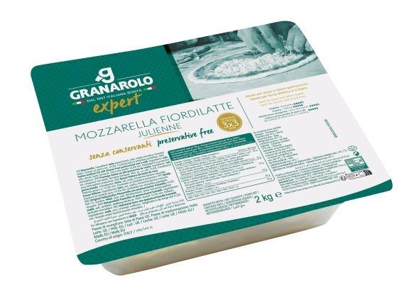 Mozzarella Julienne kg 2 Granarolo