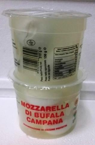 Mozz. Bufala Perline gr. 150 bicchiere (15x10 gr)