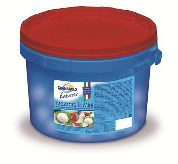 (Ciliegine) Mozzarelline Mini kg. 1 (100 x 10 gr.)