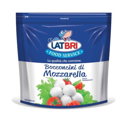Mozzarelline doypack Kg. 1 LATBRI
