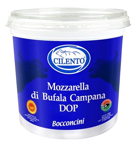 Mozz. Bufala DOP 10x50 gr. secchiello gr. 500 Cilento