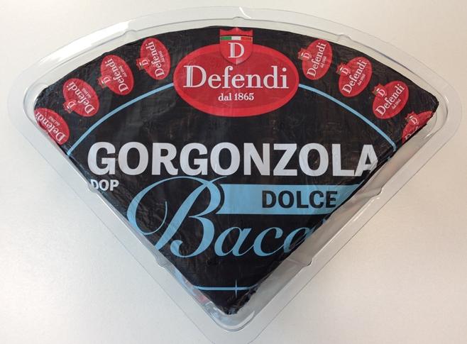 Gorgonzola dolce Bacco DOP 1/8 Kg 1.5 ca.