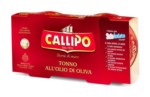Callipo Tonno O.O. scat. cluster 2 x 160 gr