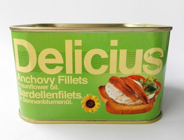 Fil. acciughe o/girasole 720 g. latt. Delicius