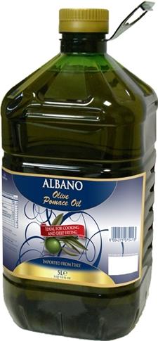 Olio di sansa d'oliva PET lt.5  Albano