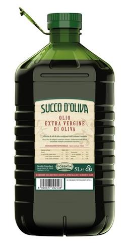 Olio extra vergine oliva lt.5 PET Fiorentini