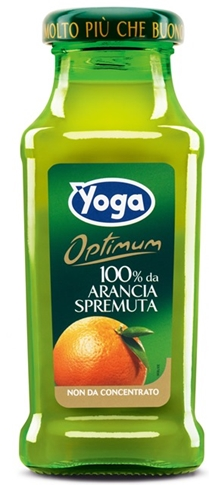 Arancia 100% bott.200 ml Yoga