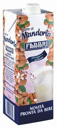 Latte Mandorle Brik lt.1 Fabbri (E54)