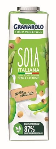 Bevanda di soia UHT Lt 1 Granarolo