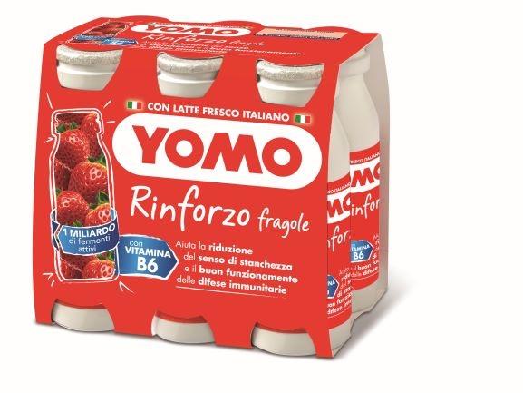Yomo Rinforzo fragola 6x90 gr