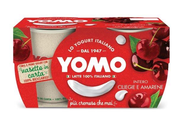 Yogurt Yomo ciliegie e amarene 2x125 gr.