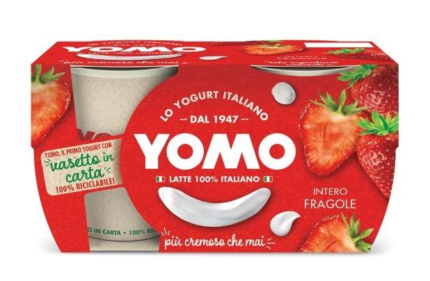 Yogurt Yomo fragola 2x125 gr.