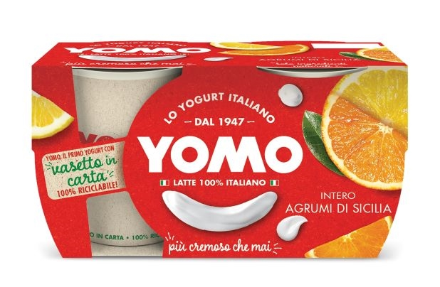 Yogurt Yomo agrumi di Sicilia citrus 2x125 gr.