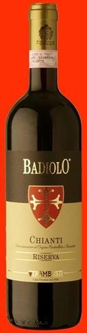 Chianti Docg Badiolo Riserva lt. 0.75