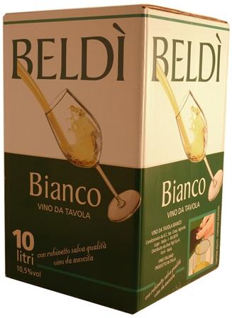 Bianco Beldì box lt.10