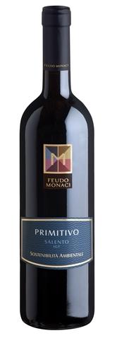 Primitivo Salento IGT Feudo Monaci lt. 0.750 13.50%