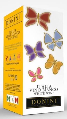 Vino Bianco d'Italia Donini lt. 3 BIB 11.50%