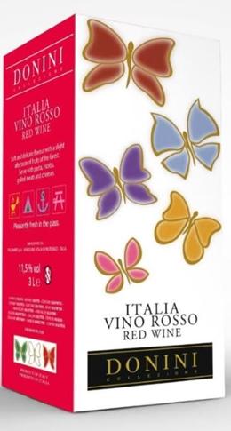 Vino Rosso d'Italia Donini lt. 3 BIB 11.50%